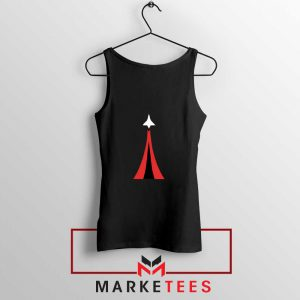 Netflix Space Force Black Tank Top