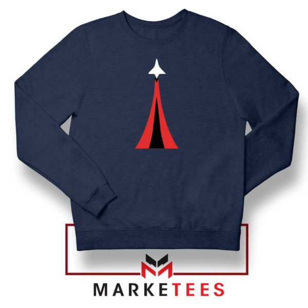 Netflix Space Force Navy Blue Sweatshirt