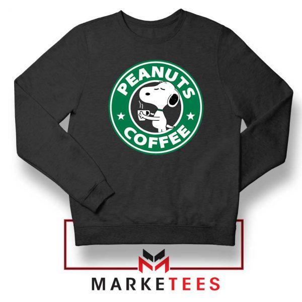 Peanuts Coffee Sweatshirt