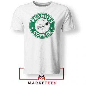 Peanuts Coffee White Tshirt
