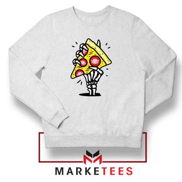 Pizza Skull Hand Sweatshirt