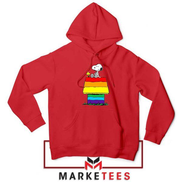 Pride Snoopy Red Hoodie