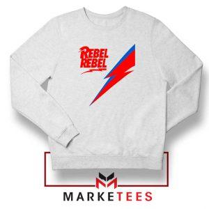 Rebel Rebel David Bowie Sweatshirt