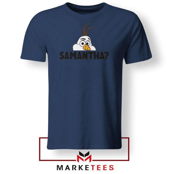 Samantha Olaf Navy Blue Tshirt