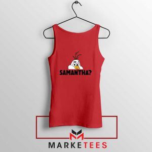 Samantha Olaf Red Tank Top