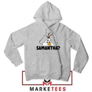 Samantha Olaf Sport Grey Hoodie