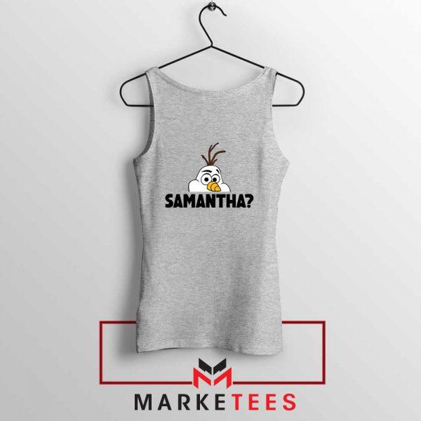 Samantha Olaf Sport Grey Tank Top