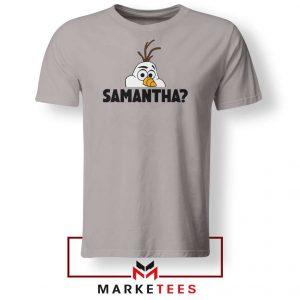 Samantha Olaf Sport Grey Tshirt