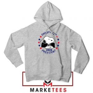 Snoopy For President 2020 Sport Grey Hoodie