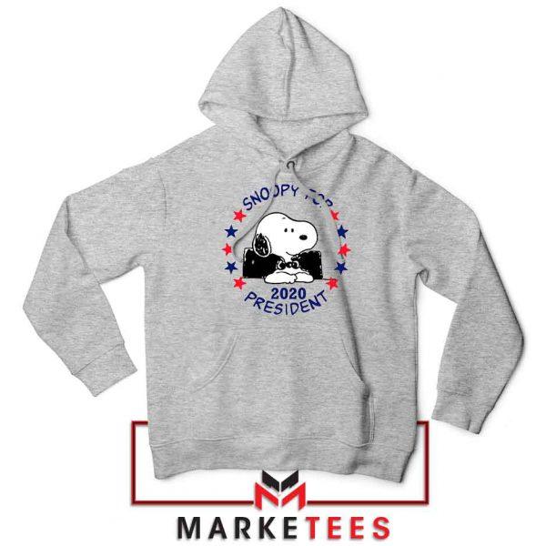 Snoopy For President 2020 Sport Grey Hoodie