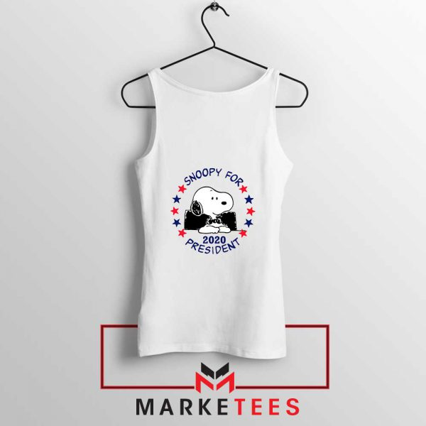 Snoopy For President 2020 Tank Top