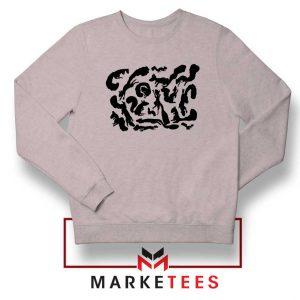 Squiggle Of Squirrels Sport Grey Sweatshirt