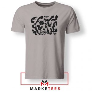 Squiggle Of Squirrels Sport Grey Tshirt