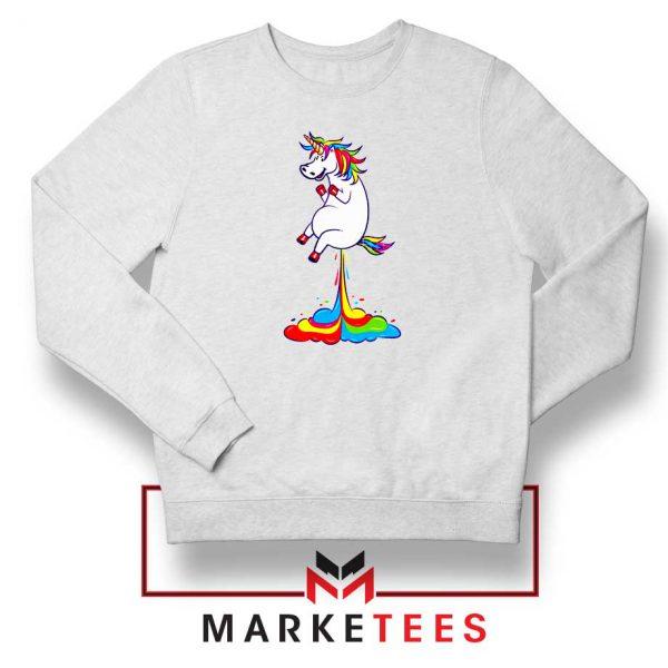 Unicorn Fart Rainbow Sweatshirt