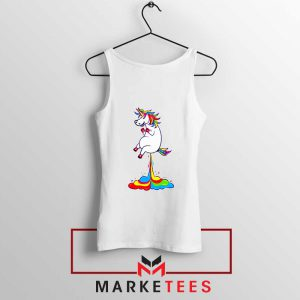 Unicorn Fart Rainbow Tank Top