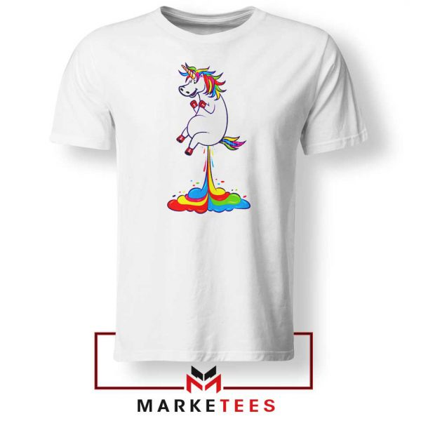 Unicorn Fart Rainbow Tshirt