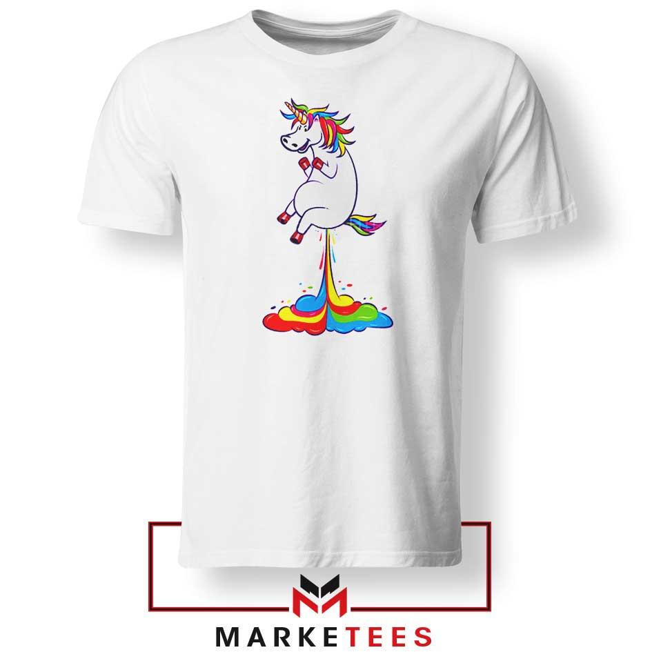 Unicorn Fart Rainbow Tshirt Legendary Creature Tee Shirts