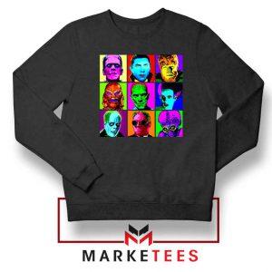 Universal Warhol Horror Black Sweatshirt