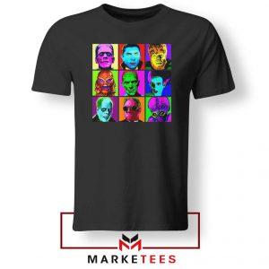 Universal Warhol Horror Black Tshirt