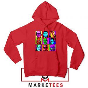Universal Warhol Horror Red Hoodie