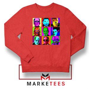 Universal Warhol Horror Red Sweatshirt