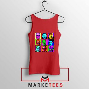Universal Warhol Horror Red Tank Top