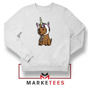 Vizsla Unicorn Hat Sweatshirt