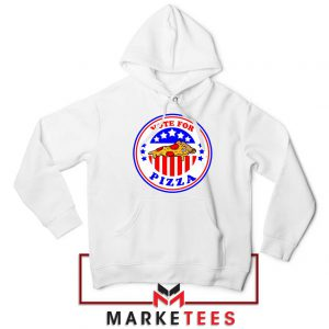 Vote For Pizza President Hoodie