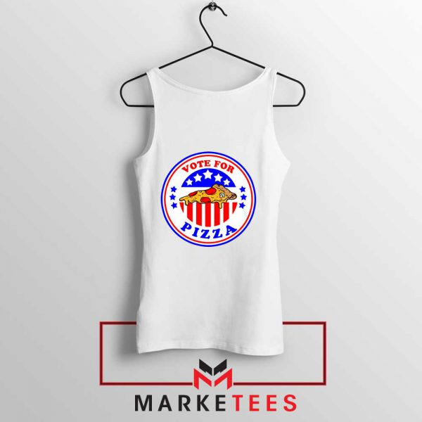 Vote For Pizza President Tank Top