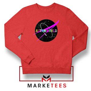 Astroworld Album Red Sweatshirt