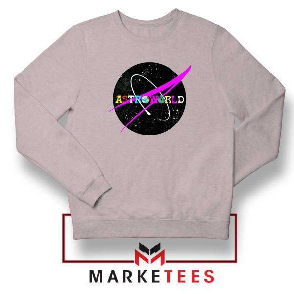 Astroworld Album Sport Grey Sweatshirt