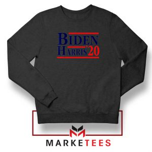 Biden Harris 2020 Black Sweatshirt