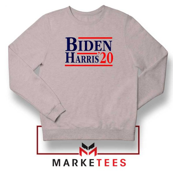Biden Harris 2020 Sport Grey Sweatshirt