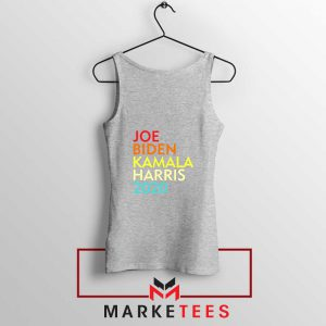 Biden Harris Nasty Woman Sport Grey Tank Top