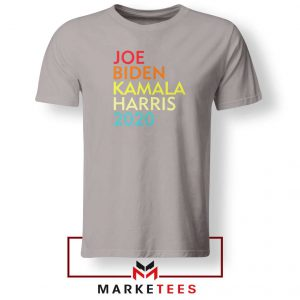 Biden Harris Nasty Woman Sport Grey Tshirt