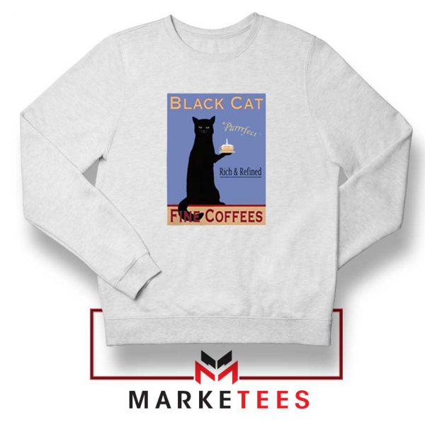 Black Cat Coffee Sweatshirt
