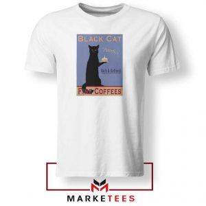 Black Cat Coffee Tshirt