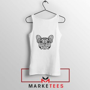 Bulldog Sugar Skull Tank Top