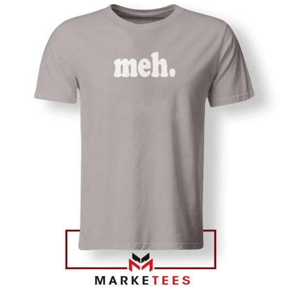 Cheap Meh Sport Grey Tshirt
