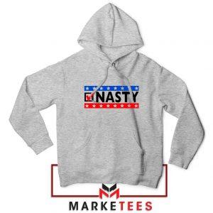 Feminist Democrat Sport Grey Hoodie
