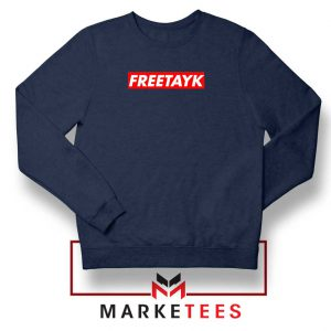 Free Tay K 47 Navy Blue Sweatshirt