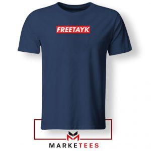 Free Tay K 47 Navy Blue Tshirt