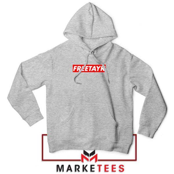 Free Tay K 47 Sport Grey Hoodie
