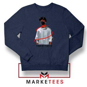 Free Tay K Navy Blue Sweatshirt