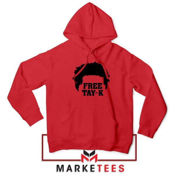 Free Tay K Rapper Red Hoodie