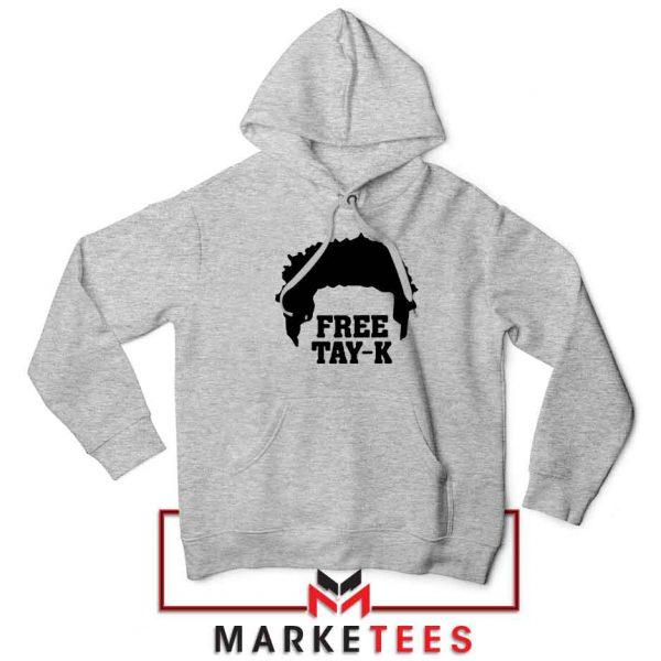 Free Tay K Rapper Sport Grey Hoodie