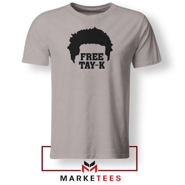 Free Tay K Rapper Sport Grey Tshirt