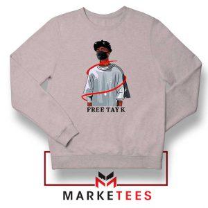Free Tay K Sport Grey Sweatshirt