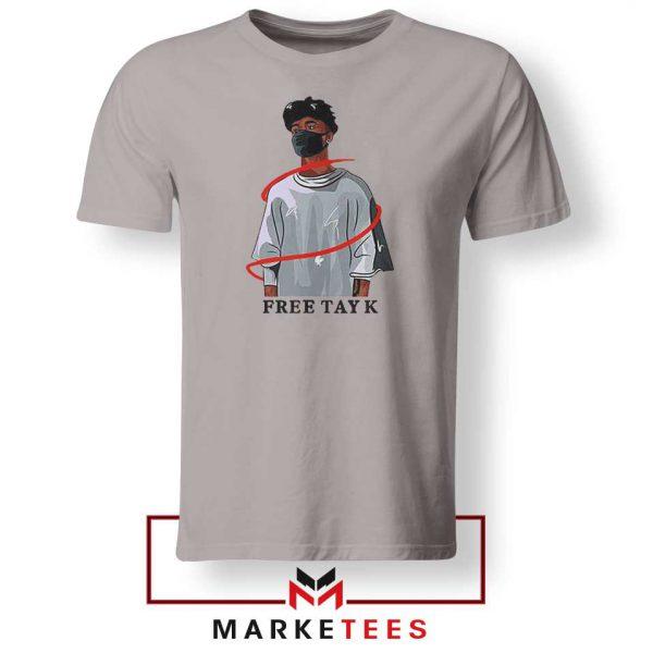 Free Tay K Sport Grey Tshirt