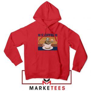 Funny Sloffee Red Hoodie